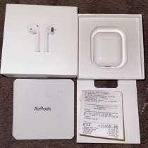 Apple AirPods 2 оригинальные, в Томске