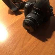Продам фотоаппарат Sony Alpha 390, в Москве