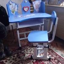 Продам детский столик и стульчик, высокий стульчик, кроватку, в г.Павлодар