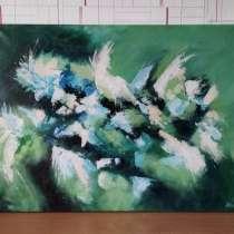 Абстракция картина. Акрил, холст. 60×80 см, в г.Костанай