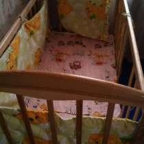 Продам детскую кроватку с матрасиком, в г.Харьков