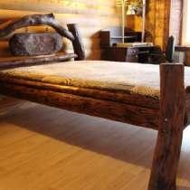 Кровать в стиле рустик Викинг, в Москве