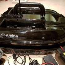 Карповый Кораблик AMINA с Эхолотом (для завоза снастей и при, в Уфе