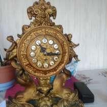 Часы, 1889 год. Бронза, в г.Тбилиси