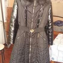 Зимнее пальто из курточной ткани.54р, в Перми