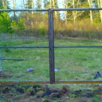 Ворота распашные без калитки под ключ 3 на 2 метра, в г.Лондон