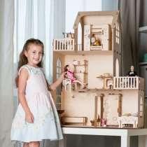 Кукольный домик 98 см высота для Барби, в Красноярске