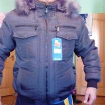 Зимний пуховик мужской, в Саратове