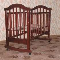 """Детская кроватка """"Виктория-2"""", 120х60см, в Москве"""