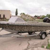 Лодка моторная Касатка 900 про. Стильный моторный катер, в Приморско-Ахтарске
