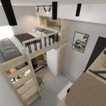 Доступное жилье! Функциональная студия 14 м2, в Красногорске