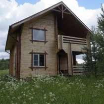Новый двухэтажный дом в тихом живописном месте, на берегу, в Ярославле