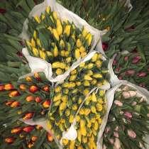 Тюльпаны на 8 марта, в Челябинске