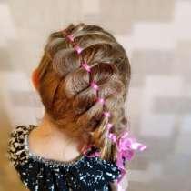 Плетение кос, причёски на основе кос, в Санкт-Петербурге