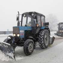 Чистка снега, в Солнечногорске