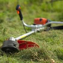 Покос травы. Помогу скосить траву. Скос травы. Бензокоса, в Красноярске