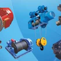 Ремонт оборудования: тельферы, насосы, лебедки, редукторы, в Красноярске