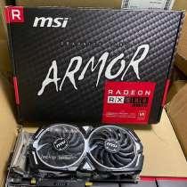 MSI XFX AMD Radeon RX 580 ARMOR 4G 8G, в Санкт-Петербурге