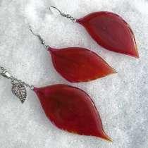 Комплект украшений с красными листьями, в Кстове