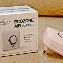 Мини очиститель воздуха для дома EcoZone, в Москве