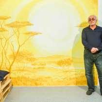 Роспись стен!!! Декоративной штукатуркой, в г.Алматы