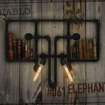 Светильник настенный, стиль loft - Голова Слона (на заказ), в Москве