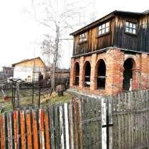 Продам дачный участок с двухэтажным домом в СНТ Омь, ЦАО, в Омске
