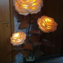 Светильники-цветы из изолона, в Барнауле