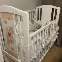 Кроватка детская / кровать Teddi Milano, в Санкт-Петербурге