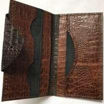 Мужской кошелёк лонгер из натуральной кожи ручной работы, в Москве