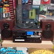Проигрыватель виниловых пластинок TR-18CD-BT, в Москве