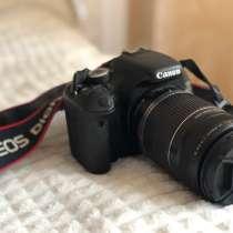 Canon eos 600d + объектив 50-250mm, в Воронеже