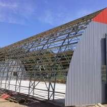 Изготовление и монтаж быстровозводимых и авиационных ангаров, в Пензе