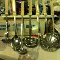 Набор для кухни: - ложка, мялка, поварёшка, в Москве