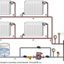 Монтаж отопления в частных домах в Чебоксарах, в Чебоксарах