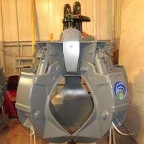 Грейфер для металлолома 600 литров (Италия) с ротатором GR16, в Москве