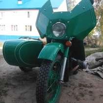 Мотоцикл УРАЛ, в Томске