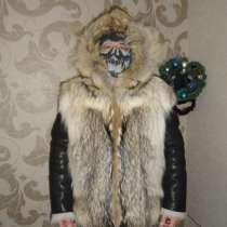Шуба мужская,волк, в Красноярске