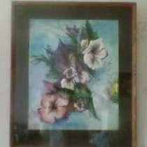 """акварель """"цветы"""", в Уфе"""