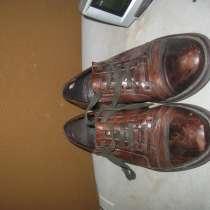 кожаные мужские туфли 41 коричневого цвета, в Калининграде