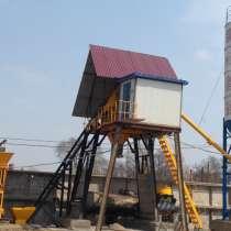 бетонный завод HZS25, в Владивостоке