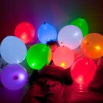Светящиеся гелиевые шары , в Челябинске
