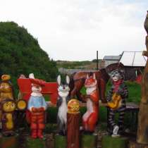 деревянные скульптуры, в Подольске