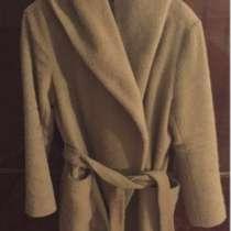 пальто авто леди песочного цвета с капюшоном , в г.Уральск