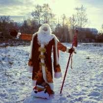 Дед Мороз и Снегурочка. Аниматоры. Шоу мыльных пузырей., в Москве