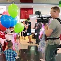 Видео и фото съёмка банкета, дня рождения, экскурсии, в Новосибирске