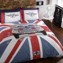 Постельное белье с британским флагом, в Москве