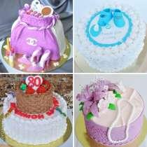 Эксклюзивные торты на заказ в Омске 89620353751, в Омске