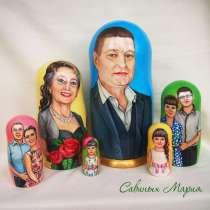 Портретная матрешка, в Казани