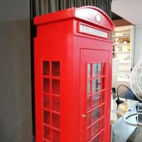 Шкаф-будка в английском стиле. Стиль лофт, в Москве